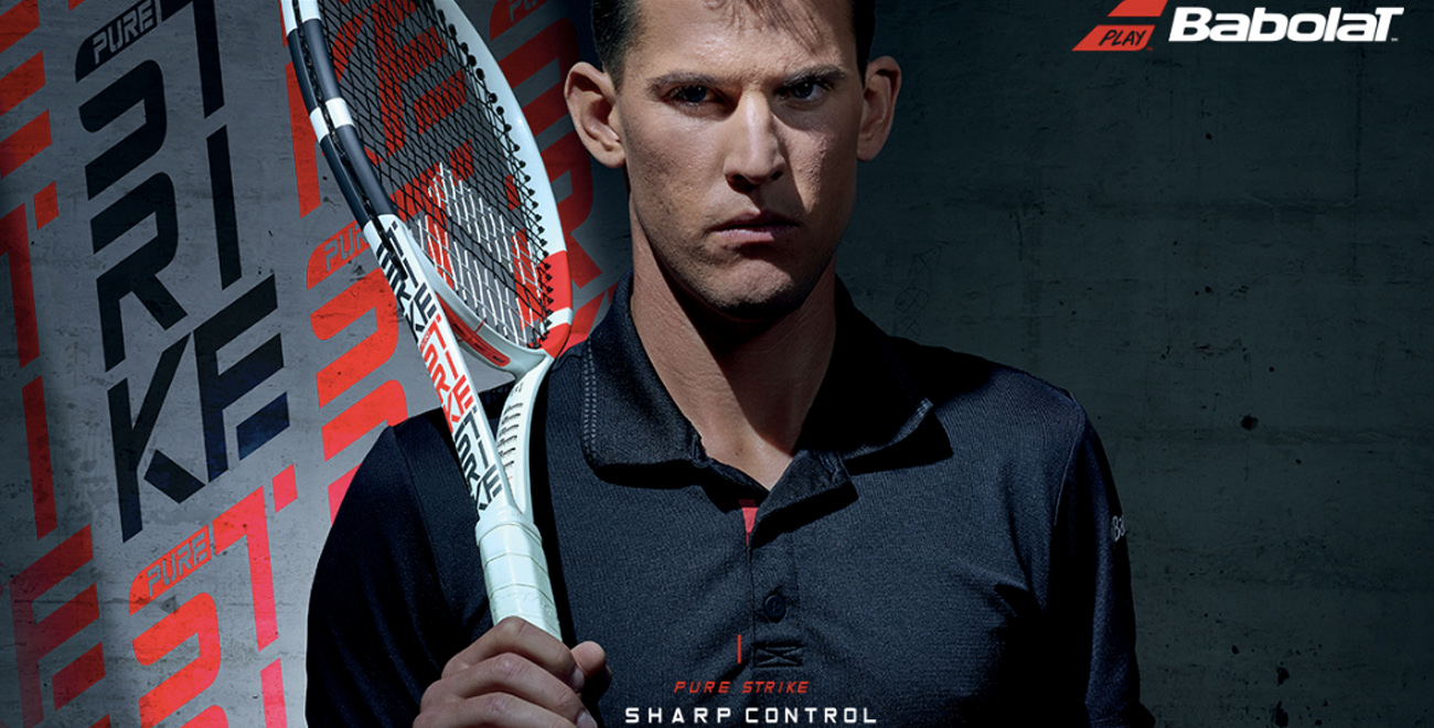 BABOLAT NEW PURE STRIKE(THIEM)
