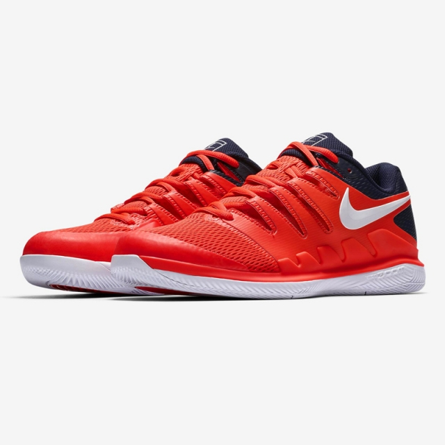 NIKE AIR ZOOM VAPOR X HC 費德勒網球鞋 ATP巡迴賽