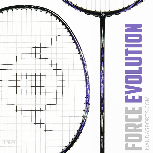韓國登陸普DUNLOP Force EVOLUTION 羽球拍