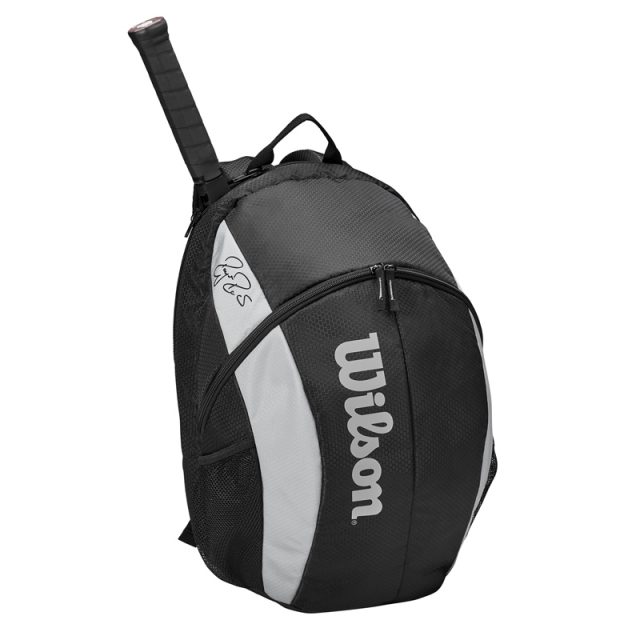 Wilson ROGER FEDERER TEAM BACKPACK 後背包 黑白 2020