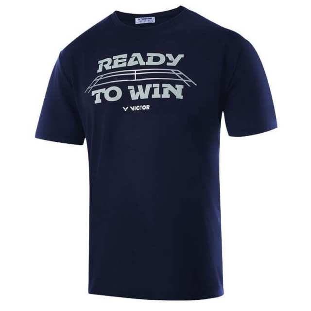 VICTOR READY TO WIN T-Shirt 中性 T-3916 B 藏青