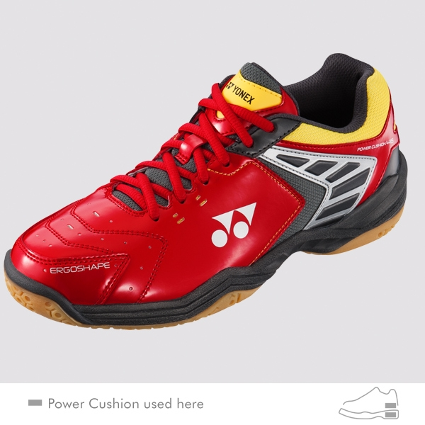 YONEX POWER CUSHION 46 羽球鞋 紅