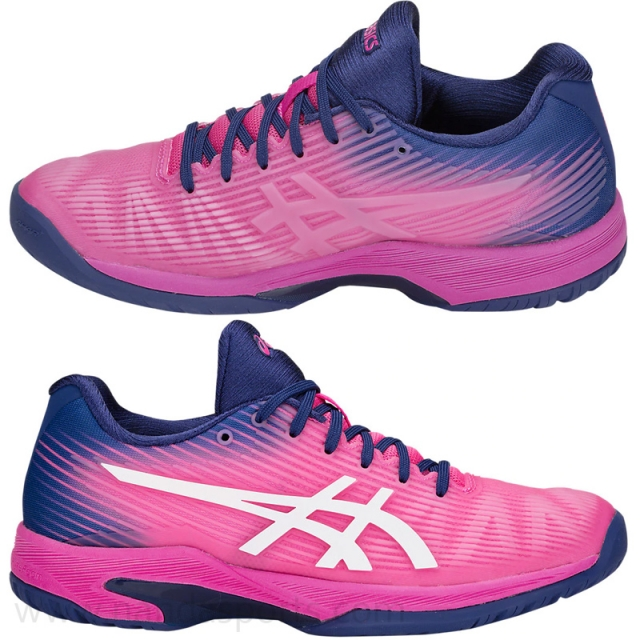 asics SOLUTION SPEED FF 網球鞋 粉紅 Women