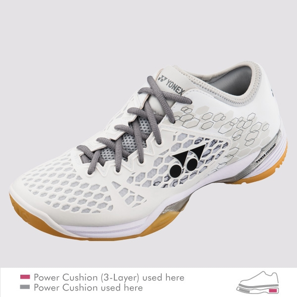 YONEX POWER CUSHION 03 Z MEN 羽球鞋 白